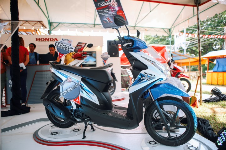honda beat esp series launch in dumaguete - motorcycle philippines