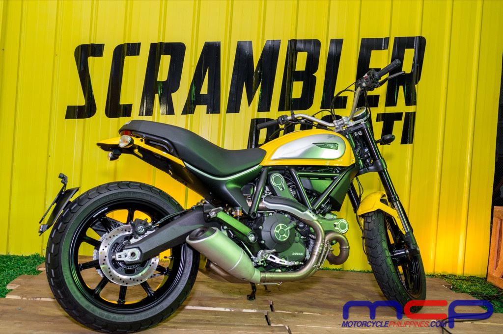 Philippines Ducati Scrambler Icon