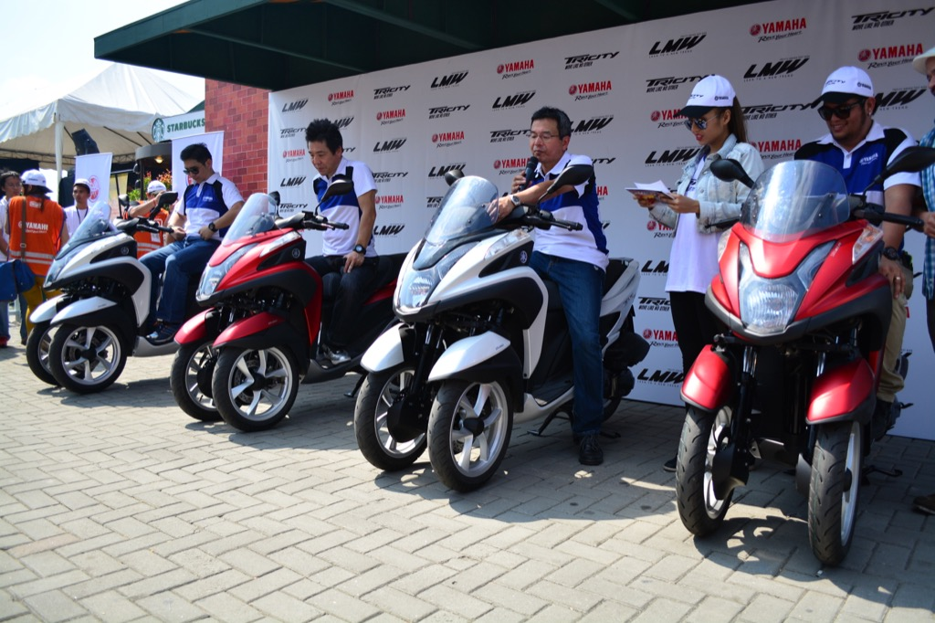 The Yamaha Tricity Grand Launch Motorcycle Philippines
