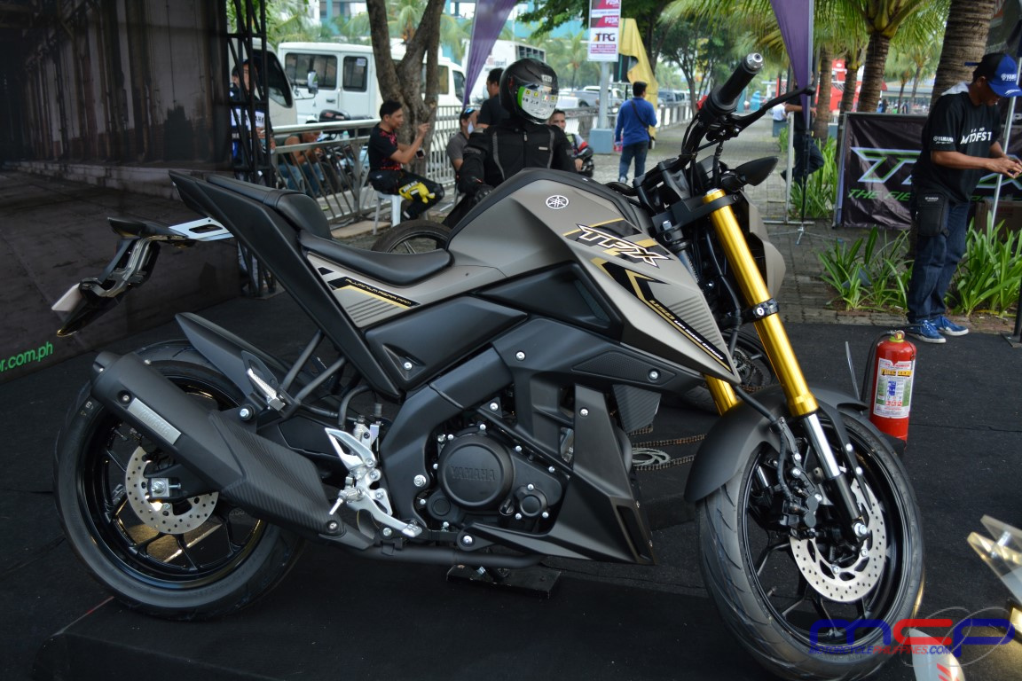 yamaha launches the tfx 150 motorcycle philippines