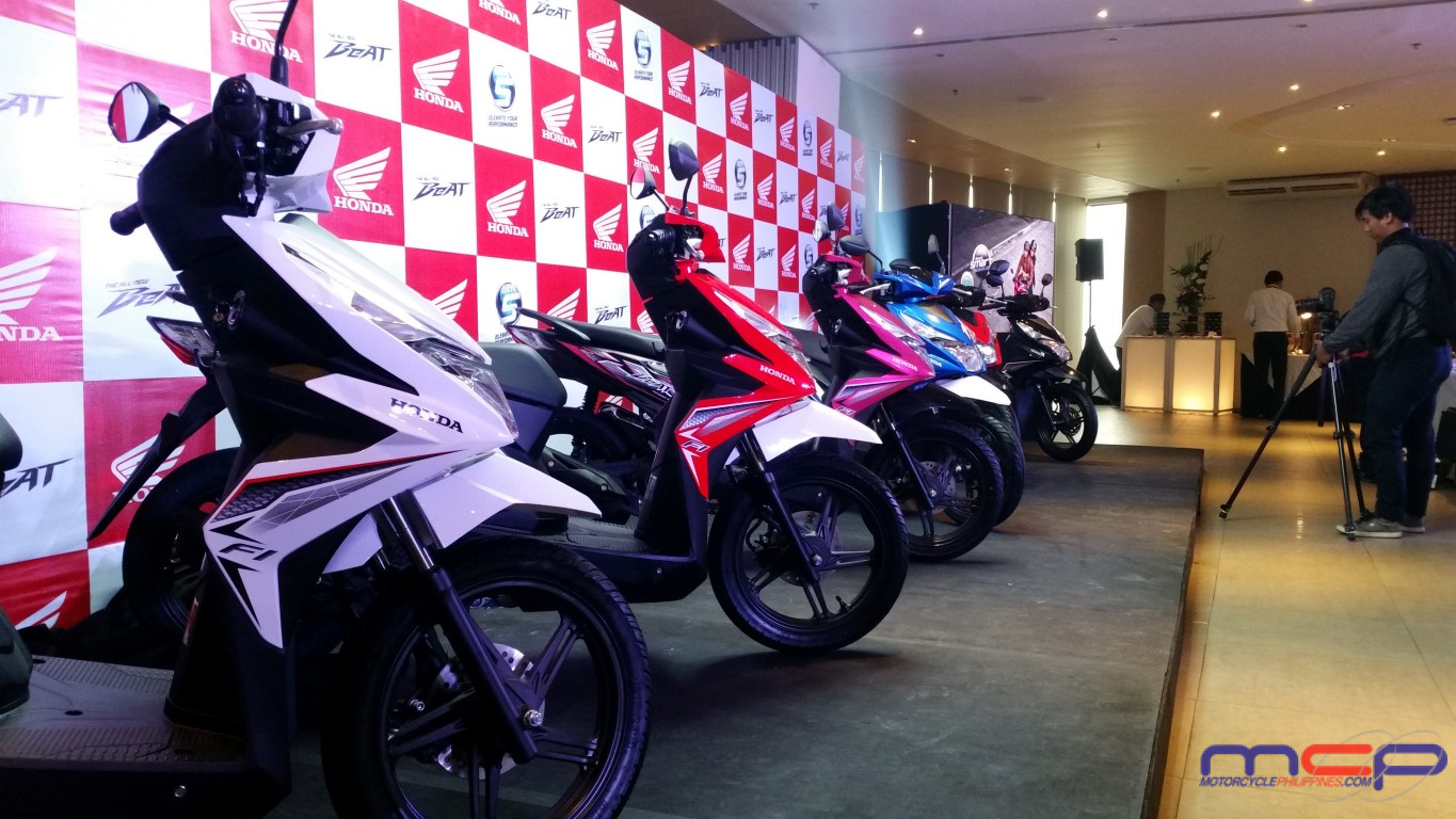 Honda Philippines Inc Launches The All New Beat Newest At Sporty Esp Cbs Iss 2017 Post Views 2777